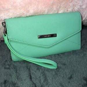Nine West Teal Wallet